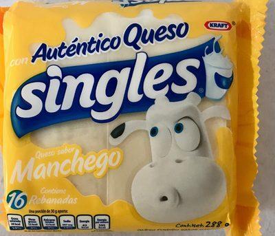 Queso sabor manchego singles