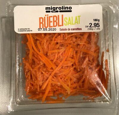 Rüebli Salat / salade de carottes