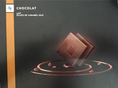 Chocolat lait eclats de caramel salé