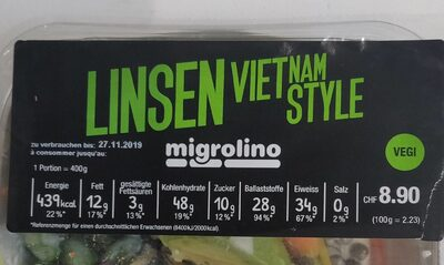 Linsen Vietnam style