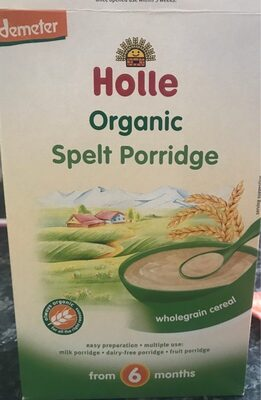 Holle Organic Spelt Porridgw