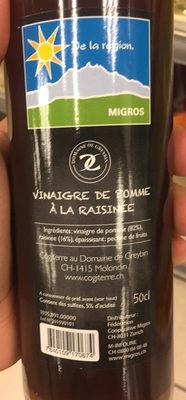 Le Pommique vinaigre de pomme vin cuit pomme et poires