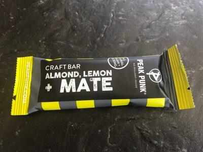 Craft bar almond lemon mate