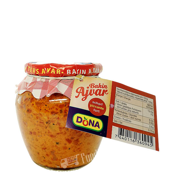 Ajvar Homemade Hot Amfora