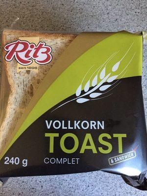 Volkorn toast