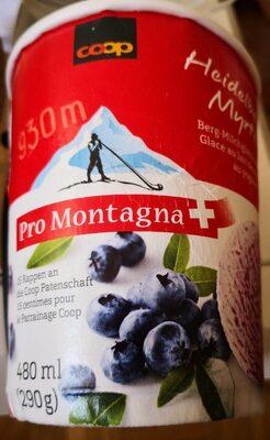 Glace au lait de montagne au yogourt