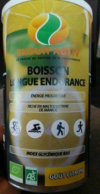 Boisson longue endurance