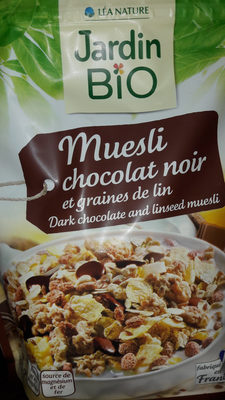 muesli chocolat noir et graine de lin