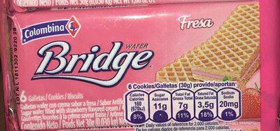 Bridge Wafer Fresa 30G