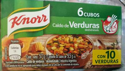 cubos de verduras knorr