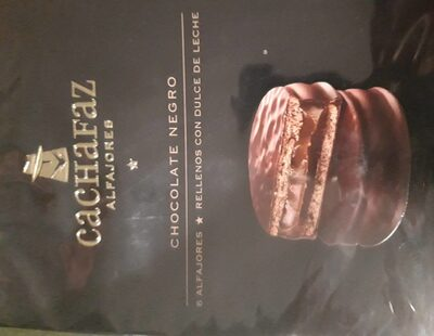 Cachafaz - Alfajor Chocolate X 6