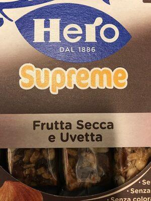 Hero Supreme Frutta Secca