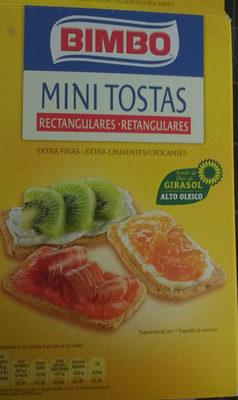 mini tostadas Bimbo