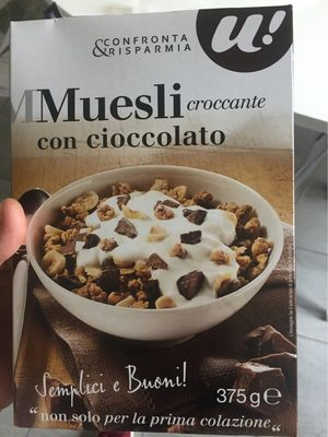 Muesli croccante con cioccolato