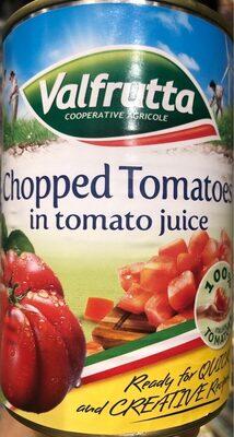 Valfrutta chopped tomatoes