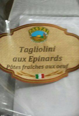 Taglioni aux épinards