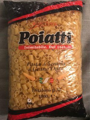 Pasta Ditaloni N 32 KG 1, Sacchetto