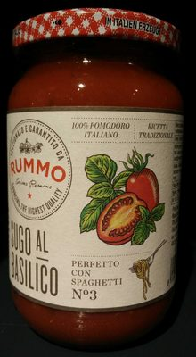 Sauce tomate avec basilic