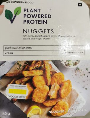 Plant powered protein nuggets