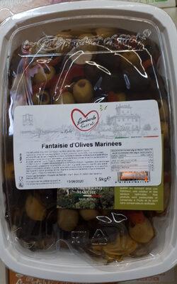 Fantaisie d'olives marinées