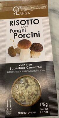 Risotto con funghi porcini