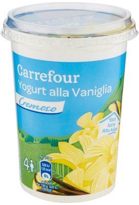 Carrefour Yogurt alla Vaniglia cremoso