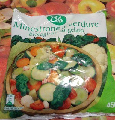 Minestrone di verdure surgelato
