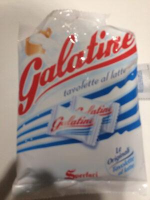 Galatine tavoletta al latte