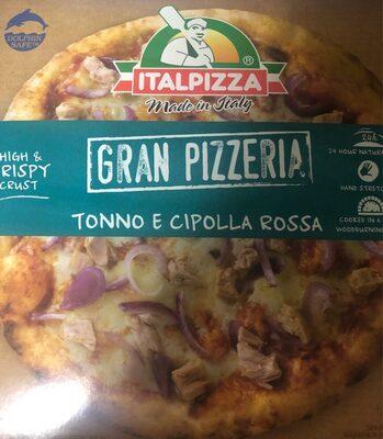 Pizza cebolla y atun