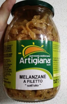Melanzane a filetto sott'olio