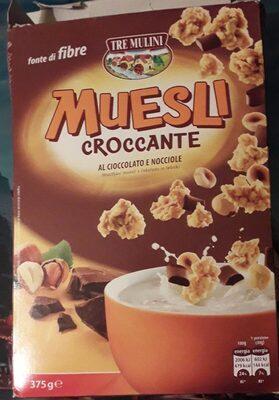 Muesli croccante al cioccolato e nocciole