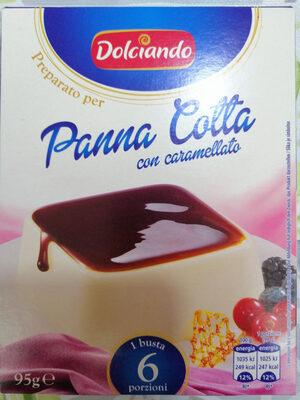Pripravek za panno cotto s karameliziran in sladkorjem