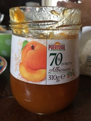 70% di frutta Albicocca