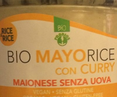 Bio mayorice con curry