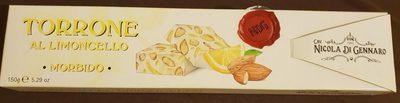 Torrone al limoncello morbido