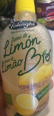 Zumo de limon bio