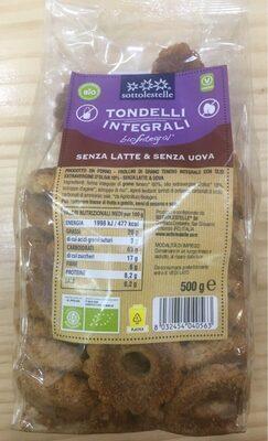 TONDELLI GALLETAS INTEGRALES