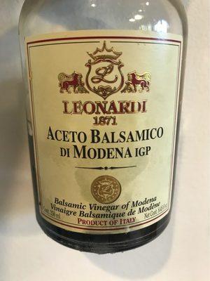 Leonardi - Aceto Balsamico Di Modena
