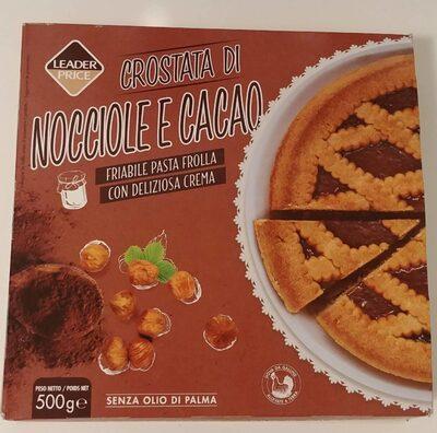Crostata Di - Nocciole E Cacao