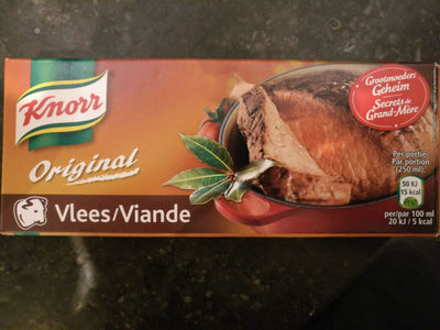 Knorr Original Vlees / Viande
