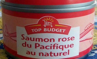Saumon Rose du Pacifique au Naturel