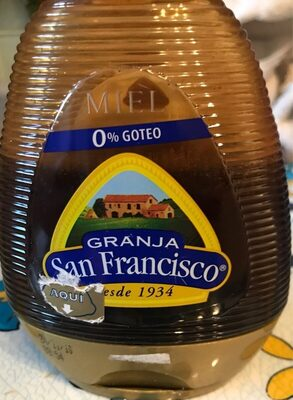 Miel granja san francisco