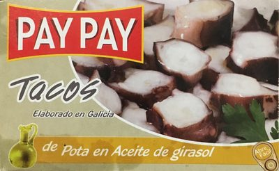 Pulpo Pay Pay Aceite