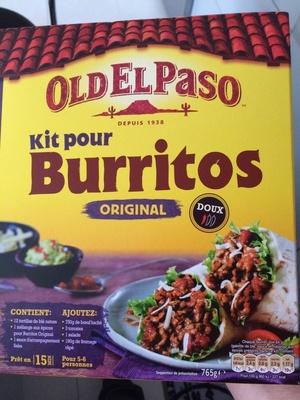 Kit pour burritos Original doux