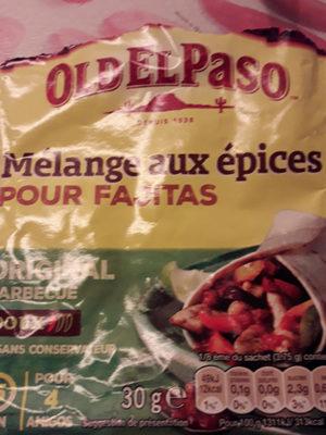Mélange d'épices pour fajitas