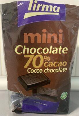 Mini chocolate 70% cacao