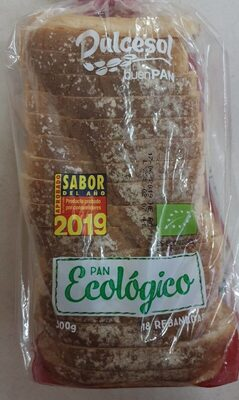 Pan de molde ecológico