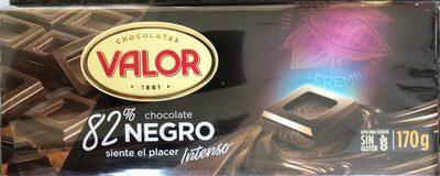 Chocolate negro 82%