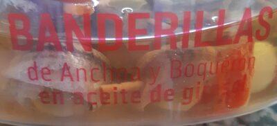 Banderillas de Anchoa y Boquerón en aceite de girasol