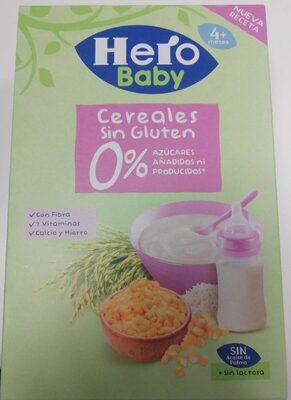 Cereales sin gluten 0%
